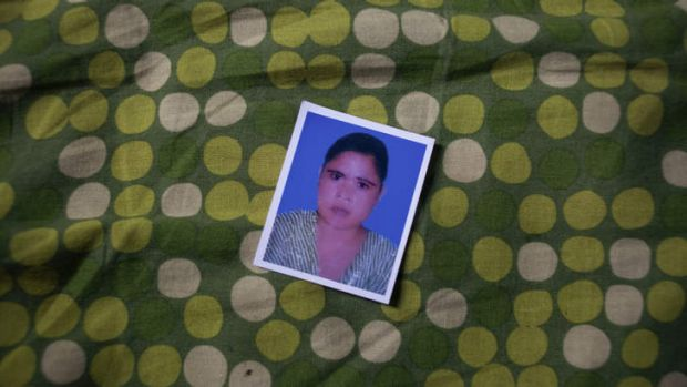 Last survivor: Shaheena, who died after the Rana Plaza collapse.