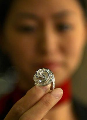 Shine: A burgeoning market for diamonds in China has seen the price of the stones skyrocket worldwide.