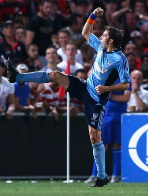 All Star nod: Sydney FC star  Alessandro Del Piero leads all votes among strikers.