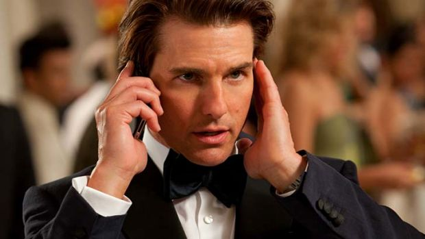 Still on the hunt ... Tom Cruise in Mission Impossible - Ghost Protocol.