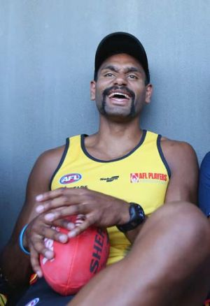 You win some:  Travis Varcoe laughs - as well he might, given that he's played in so many winning teams.