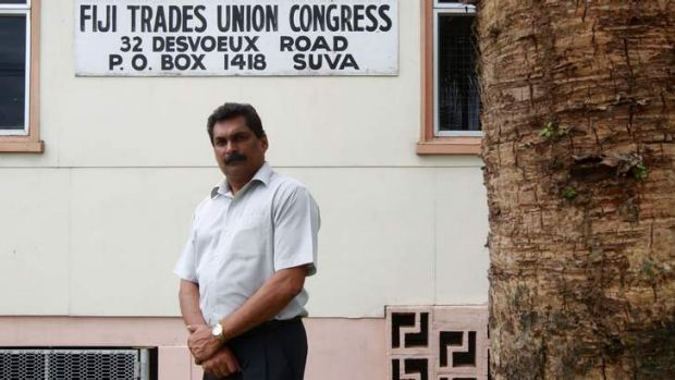 Rights curtailed: Fiji Trade Union Congress general secretary Felix Anthony denied the campaign sought to discourage ...