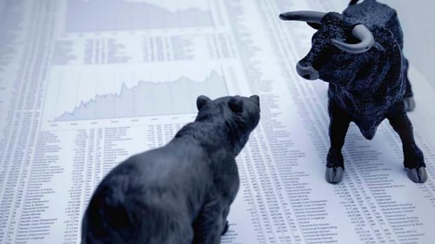 Bears waking up? ... The market lost more than $50 billion in two days.