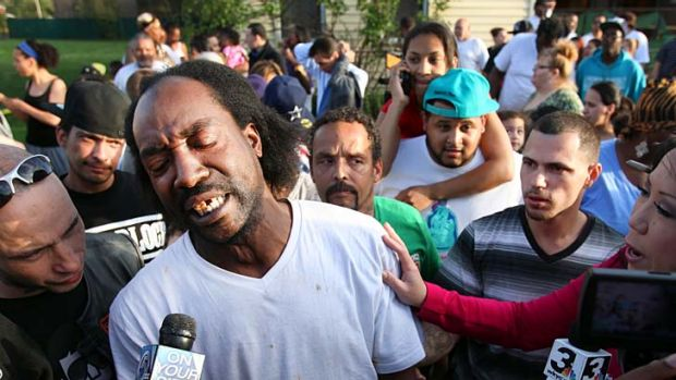 Hero: Charles Ramsey who helped rescue Amanda Berry.