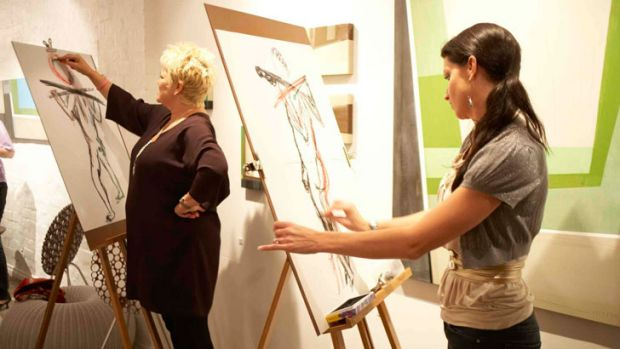 The Artistic Hen have run 1,200 life drawing classes in its five year history.