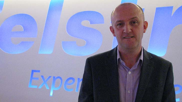 Telstra's chief information security officer, Mike Burgess, and former deputy director of Cyber and Information Security ...