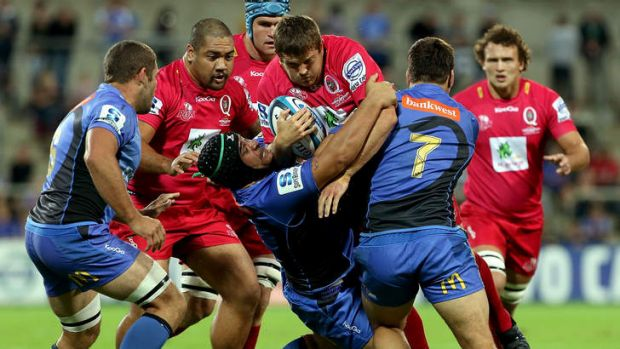 Muscle: the Reds will need plenty of go-forward for their gruelling South African tour.