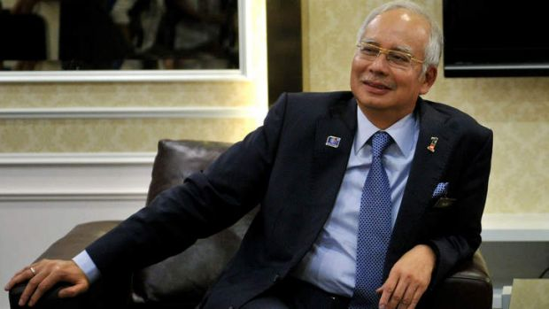 Winner: Malaysia's Prime Minister Najib Razak has dismissed allegations of fraud in last Sunday's elections.