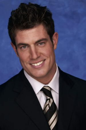 NFL quarterback Jesse Palmer of the New York Giants from  <i>The Bachelor</i> Season Five