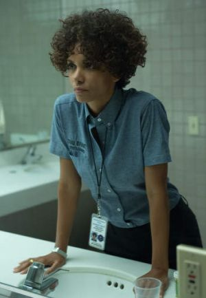 Facing off: Halle Berry as emergency phone operator Jordan Turner in <i>The Call</i>.