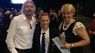 Richard Branson at the Brisbane Convention and Exhibition Centre