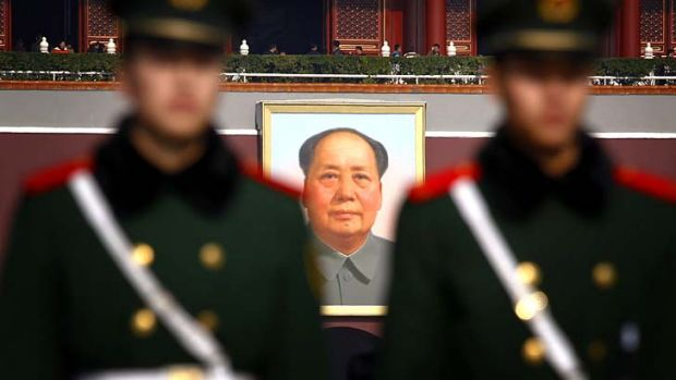 "Rich list debate: Mao's grand-daughter accused of betraying her grandfather's status as the ""great teacher of ..."
