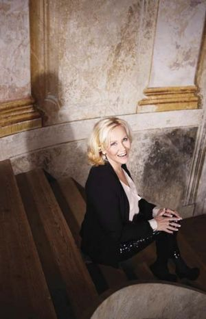 Back from a decade-long hiatus: Agnetha Faltskog.