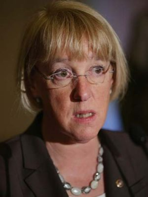 Crisis point: Democratic senator Patty Murray.