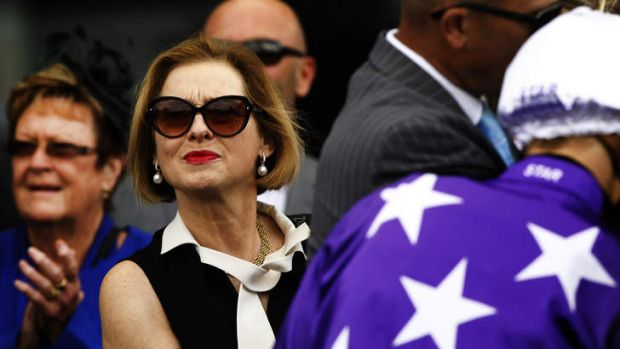 In the spotlight: Gai Waterhouse at Rosehill on Saturday and phone records showing the chronology of calls made on All ...