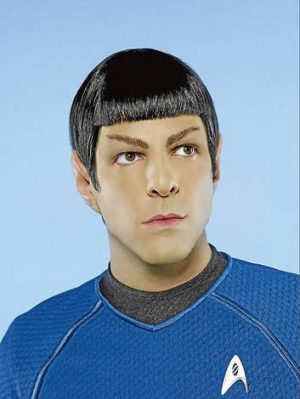 Zachary Quinto as Spock.           Spectrum          SPECIAL