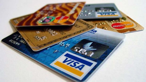 Banks aren't passing it on: The average interest rate on a credit card is 17.16 per cent.
