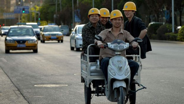 On the move: China prepares.