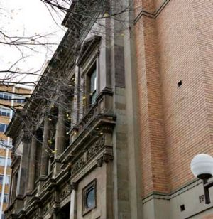 Facadeism: The Old Commerce building at Melbourne University.