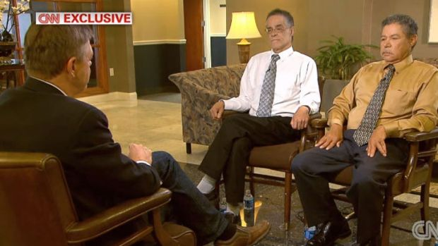 Didn't know what their brother allegedly did: Onil and Pedro Castro are interviewed on CNN.