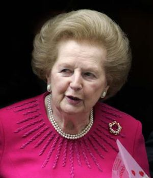 Power do: Margaret Thatcher.