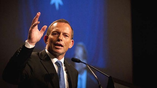 "Tony Abbott: ""A Liberal Prime Minister and a devout Christian."""