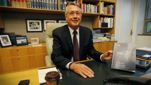 Much of the pain from Treasurer Wayne Swan's budget falls on Canberra.