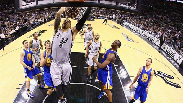 The Spurs have a 3-2 lead in the best-of-seven western conference semi-final series.