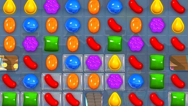 Highly addictive: Candy Crush.