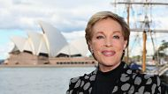 """SYDNEY, AUSTRALIA - MAY 16:  Actress Julie Andrews poses during a press conference ahead of her national tour of """"An ..."""