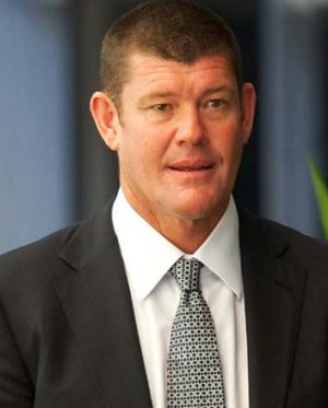 Casino magnate: James Packer.
