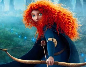Original and best: Merida, as she appears in <i>Brave</i>.