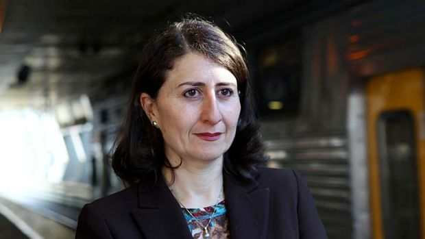 """Safety: Transport Minister Gladys Berejiklian said seatbelts on school buses were """"important to communities in regional ..."""