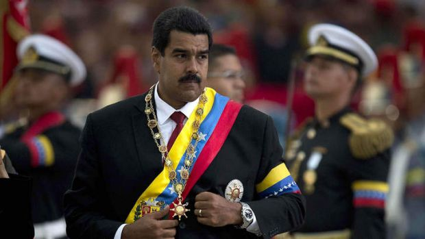President Nicolas Maduro claims anti-government forces, including the private sector, are causing shortages in goods.
