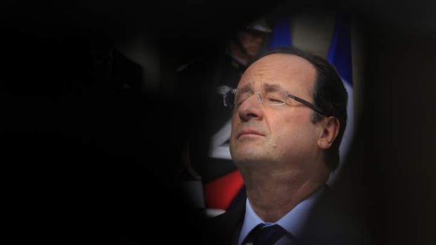 "Continent cut off: ""Europe existed before Britain joined it,"" says the French President, Francois Hollande."