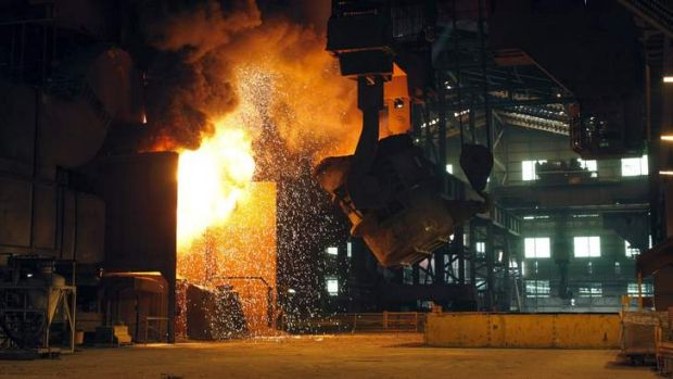 Warmer climes: Troubles may ease for steel makers.