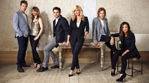 The cast of Offspring.