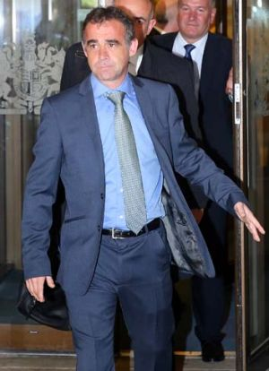 Pleaded not guilty to child sex charges: Actor Michael Le Vell.