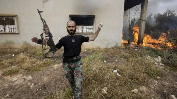 Accusations: Syrian troops take control of a village in Homs province. Forces loyal to President Assad have been ...