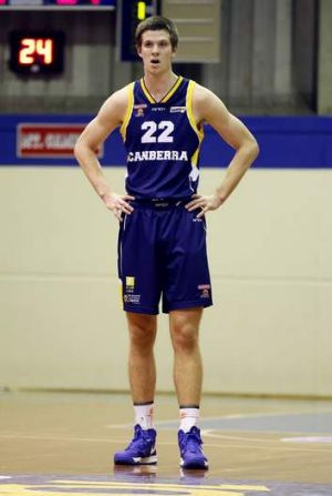 Canberra Gunners player Darcy Malone.