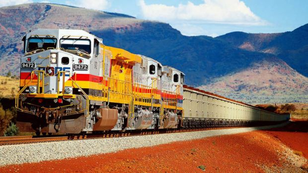 Under the existing structure, Fortescue's railway is broken up into three sections for pricing purposes.