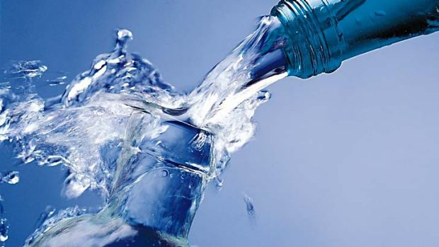 Bottled water: a massive mark-up.