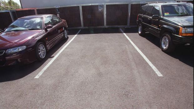 Vacant parking spaces are a premium in Canberra's southern suburbs.