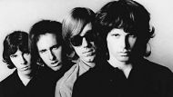 **FILE**Members of the Doors pose for an undated publicity photo from files. From left; John Densmore, Robbie Krieger, ...