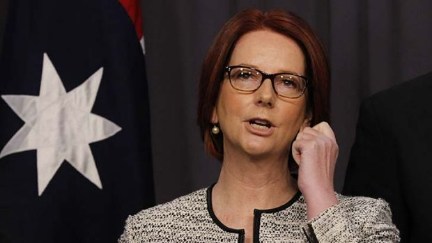 Each way bet: Julia Gillard has backed Stephen Conroy despite admitting that live betting drives her crazy.