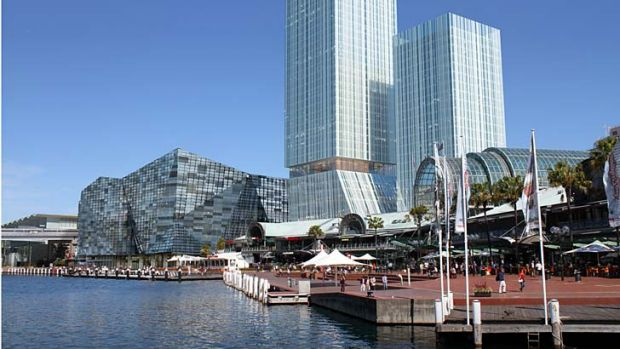 An artist's impression of the proposed revamp at Darling Harbour but can it cope with increased numbers of people?