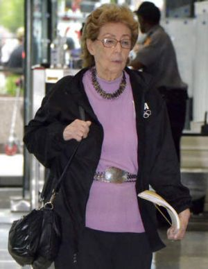 Standing up: Jacqueline Goldberg said she feels conned.