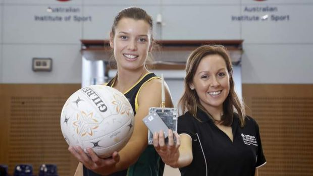 Sport,  from left, U-21 World Youth Squad member Micaela Wilson and Victoria University PHD student Alice Sweeting with ...