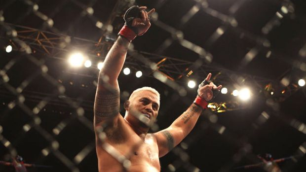 "Crowd favourite, the Sydney-based ""Super Samoan"" Mark Hunt fights in today's UFC 160 co-main event against Junior dos ..."