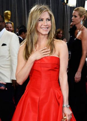 Unhappy marriage: Jennifer Aniston.